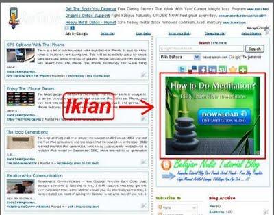 Cara Menampilakan Widget Di Home Page Blogger